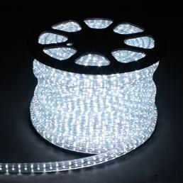 Дюралайт светодиодный, 4W 50м 230V 108LED/м 11х22мм, белый 7000K, LED-F4W