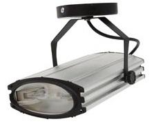 AL122, прожектор металлогалогенный  с лампой и пускателем, 35W 230V R7S серебристый