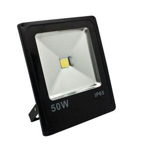 LL-839, светодиодный прожектор, 1COB LED 50W 4000LM 6400K AC220V/50Hz, 285*235*57mm  IP65, черный