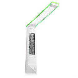 DE1710, Светильник настольный, 16LED 1,8W, с USB проводом для подзарядки 100см, зеленый