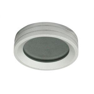 """AL117, светильник направленного света, 50W MR16 G 5,3 12V , """"круг"""" серебристый"""