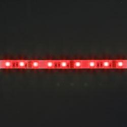LS607, лента светодиодная влагозащищенная, цвет свечения: красный на белом основании, 5м 14.4W/m