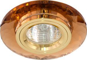 8050-2, светильник потолочный, MR16 G5.3 коричневый + золото