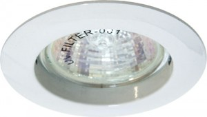 DL307, светильник потолочный, MR16 50W G5.3 белый