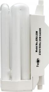 ERU-25, лампа энергосберегающая, 25W 230V R7s 6400K Т4/3U