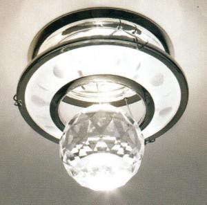 DL4171, светильник потолочный, хром (прозрачный)