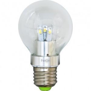 LB-42, лампа светодиодная,  10LED(5W) 230V E27 4000K тип A60