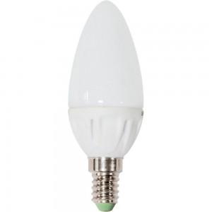 """LB-72, светодиодная лампа """"свеча"""" E14 8LED 5W 4000К"""
