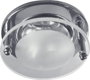1787, светильник потолочный, R39 Е14 со стеклом, серебро