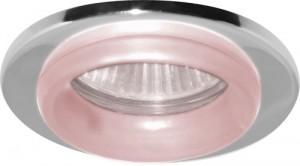 730W, светильник потолочный, MR16 G5.3 хром красный