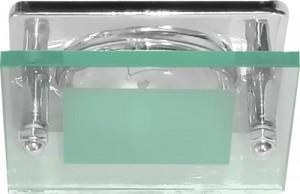 3781, светильник потолочный, R63 Е27 со стеклом, хром