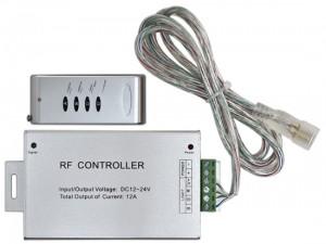 LD10 Контроллер для светодиодной ленты RGB с пультом ДУ DC12V  MAX:10A, IP20