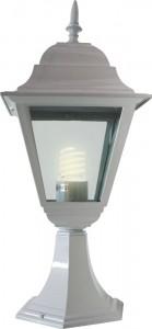 4204, светильник садово-парковый, 100W 230V E27 белый