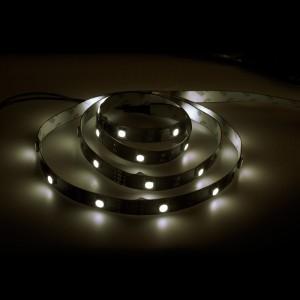 LS606, светодиодная лента, цвет свечения: теплый белый, 5m, 7.2W/m