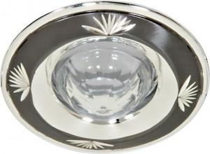 DL1011, светильник потолочный,  черное серебро