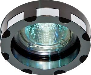 DL193, светильник потолочный,  MR16 G5.3 черный и хром