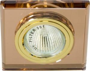8170-2, светильник потолочный, MR16 G5.3 коричневый, золото
