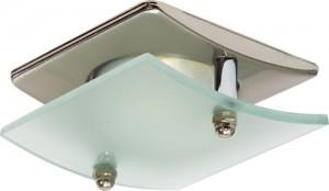 4720, светильник потолочный, R63 Е27 со стеклом, титан