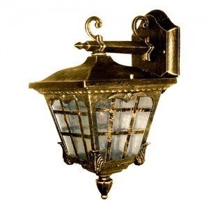 9137S, светильник садово-парковый, 60W 230V E27 черное золото