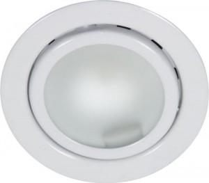 А012, светильник мебельный, JC G4.0 белый, с лампой