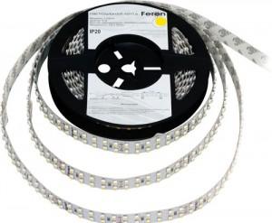 LS615, светодиодная лента  цвет свечения: белый 240SMD(3528)/m 19.2W/m 12V
