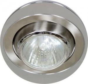 108Т-MR16, светильник потолочный, MR16 G5.3 титан-хром