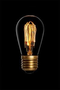 Mini edison, лампа декоративная, 240V 40W E27