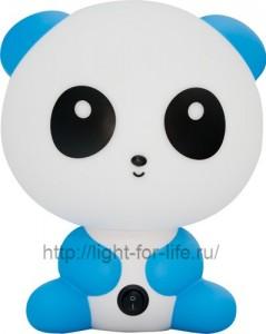 DE1602, светильник для детской, голубая панда