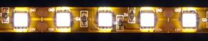 LS607, светодиодная лента влагозащищенная, цвет свечения: теплый белый, 5m, 14.4W/m