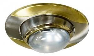 020-R39, светильник потолочный,  титан-золото