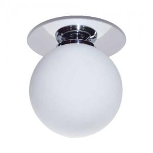 1531, светильник потолочный, JC G4.0 хром белый