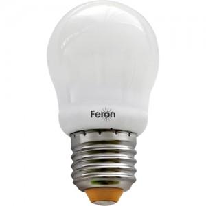 ELC82, лампа энергосберегающая, 11W 230V E27 2700K шарик