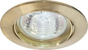 DL308, светильник потолочный, MR16 50W G5.3 золото