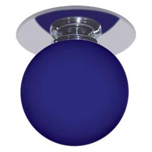 1531, светильник потолочный, JC G4.0 хром синий