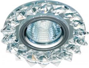 CD2515, светильник потолочный, MR16 50W G5.3 с прозрачным стеклом, прозрачный