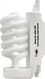 ERS-25, лампа энергосберегающая, 25W 230V R7s 4000K спираль Т3