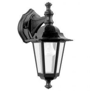 6102, светильник садово-парковый, 60W 230V E27 черный