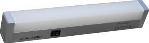 """CAB166, светильник люминесцентный, 13W 230V T5 """"квадрат"""", серебро"""