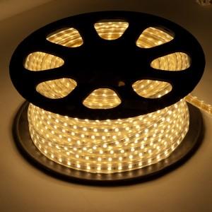LS707/LED-RL, светодиодная лента, 60SMD(5050) 14,4W/m 220V IP68, длина 50m, 14mm*8mm, теплый белый