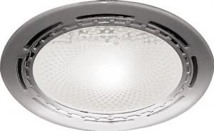 DL39, светильник потолочный с алюминиевым отражателем, ESB 2*20 E27 хром, без ламп