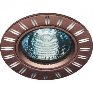 GS-M393BR, светильник потолочный, MR16 50W G5.3 коричневый