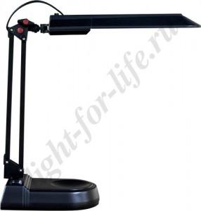 DE1120, светильник настольный, ESТ 11W 230V G23 черный с лампой