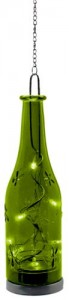"LT049 Светодиодная фигура Feron на батарейках ""Бутылка"" зеленая"