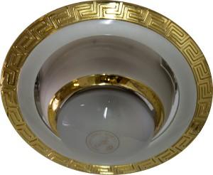 1723, светильник потолочный, R50  жемчужное серебро-золото