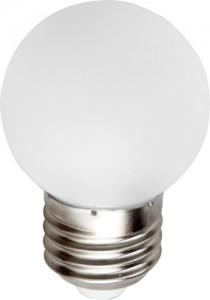 LB-33, лампа светодиодная, 3LED(1W) 230V E27 7000K