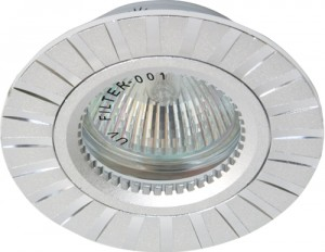 GS-M364S, светильник потолочный, MR16 G5.3 серебро