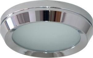DL209, светильник потолочный, MR16 G5.3 с матовым стеклом, хром