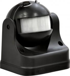 SEN11/LX39, датчик движения накладной, 1100W 12m 180° черный