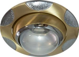 156-R39, светильник потолочный, R39 E14 матовое золото-хром