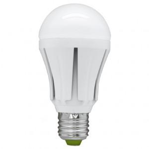 LB-49, лампа светодиодная, 30LED(12W) 230V E27 6400K A60 полушар